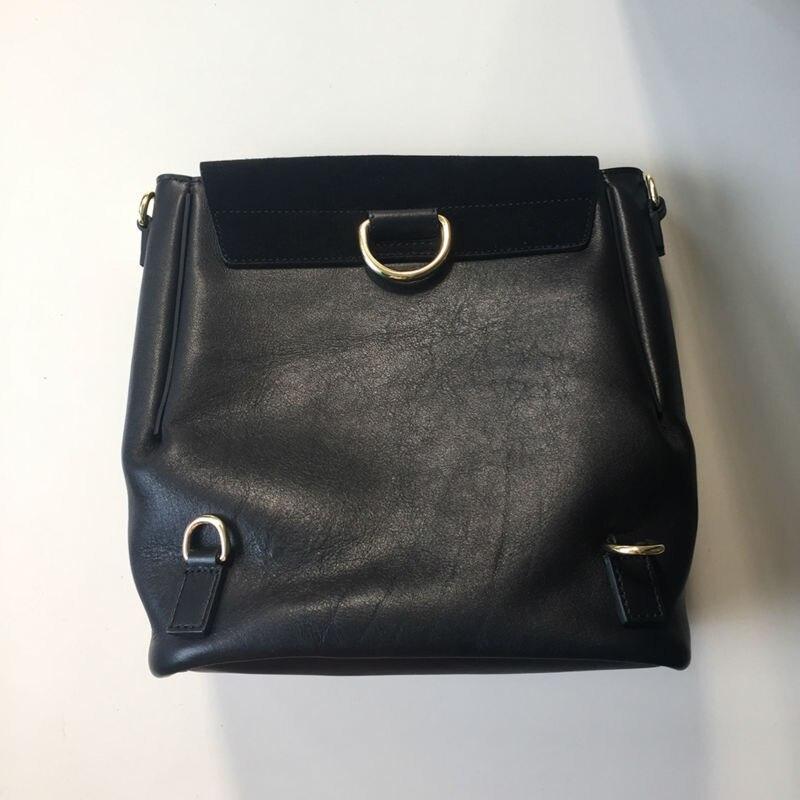 100% Пояса из натуральной кожи 2 размера чёрный; коричневый Для женщин рюкзак модельер 2017 Повседневная сумка большая