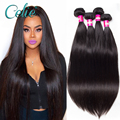 ali Brazilian Virgin Hair 4 Bundles 7A Mink Brazilian Straight Human Hair Weave Bundles Grace Hair Virgin Brazilian Hair Bundles