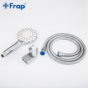 Image 5 - Frap 5 Mode Handheld Water Saving Shower Head Set Bathroom Spray ABS Pressurized Bathroom Shower With Holder & Hose IF306