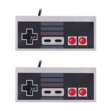 2 unids/set Nuevo Controlador de Juego Con Cable Controlador de Juegos Joystick Gamepad Joypad para Nintendo NES Mini Clásico para nintendo mini
