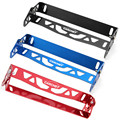 Mugen Number Plate Power Racing License Plate Frames Tag Holder Aluminum Red Black Blue Car-Styling Adjustable Number Plate