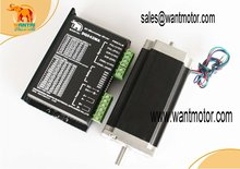 High Powerful Nema 23 Stepper Motor 425oz in CNC Matching Driver 4 2A 50VDC 125 Microstep