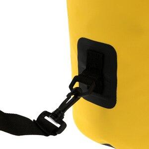 Image 4 - 10L/20L Allaperto di Acqua Resistente A Secco Sacco del Sacchetto Sacchetto di Immagazzinaggio per Viaggiare Rafting Canottaggio Kayak Canoa Campeggio Snowboard
