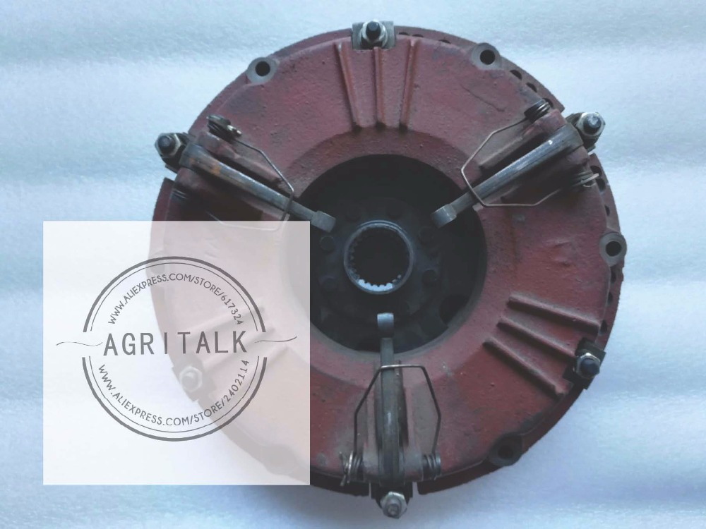 Shandong Taishan KM504,KM554 tractor parts, the dual stage clutch assembly with PTO disc (disc 280mm),parts number: shandong weituo tractor parts the distributor of ts 240d tractor the small wheeled tractor with single cylinder engine