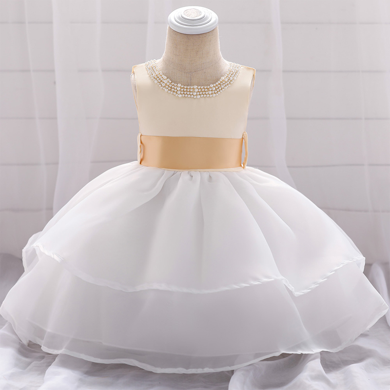 Wedding Dress To Christening Gown: 2019 Infant Girl Clothes Summer Baptism Dress Christening