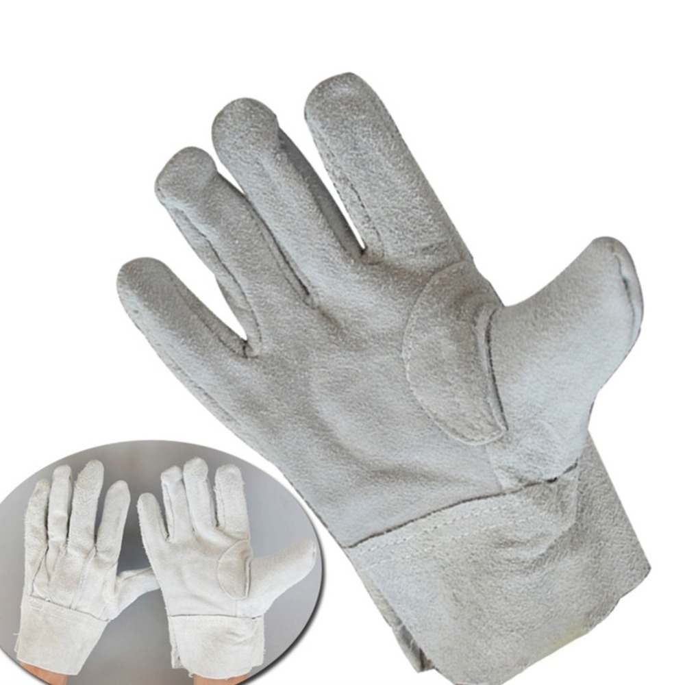 Fireproof Durable Cow Leather Welder Gloves Comfortable Anti-Heat Work Safety Gloves For Welding Metal Hand ToolsFireproof Durable Cow Leather Welder Gloves Comfortable Anti-Heat Work Safety Gloves For Welding Metal Hand Tools