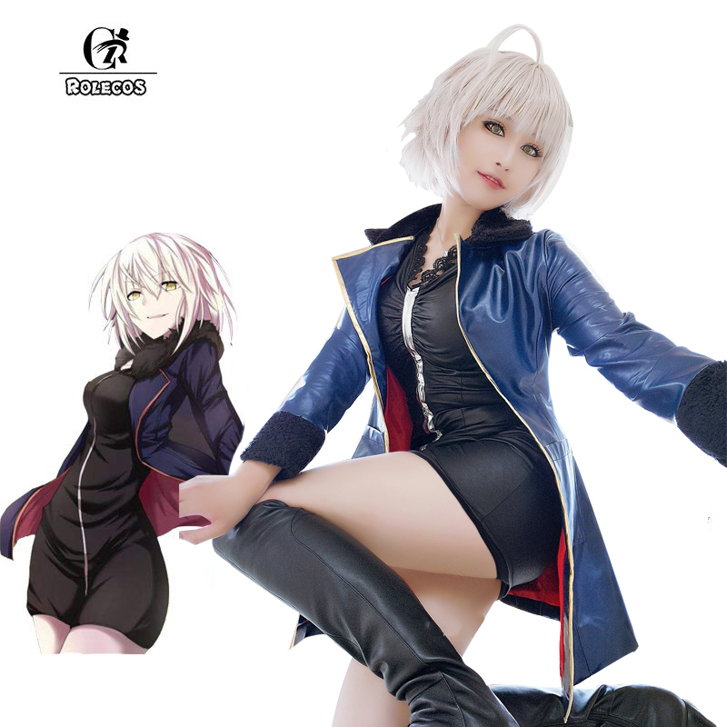 ROLECOS FGO Modifier Cosplay Sort Grand Ordre Anime Costumes Purée Kyrielight Sabre Costumes Cosplay Jeu Jeanne d'Arc Ensembles Complets