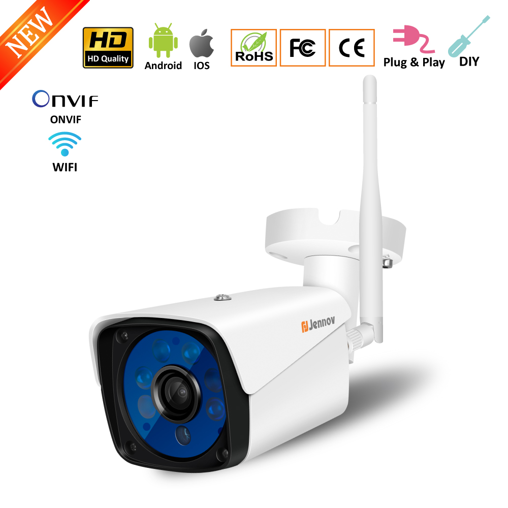 720P 960P 1080P Audio Record HD Onvif Wireless Wifi Camera Home Security IP Camera Outdoor Waterproof Support SD Card App View цены