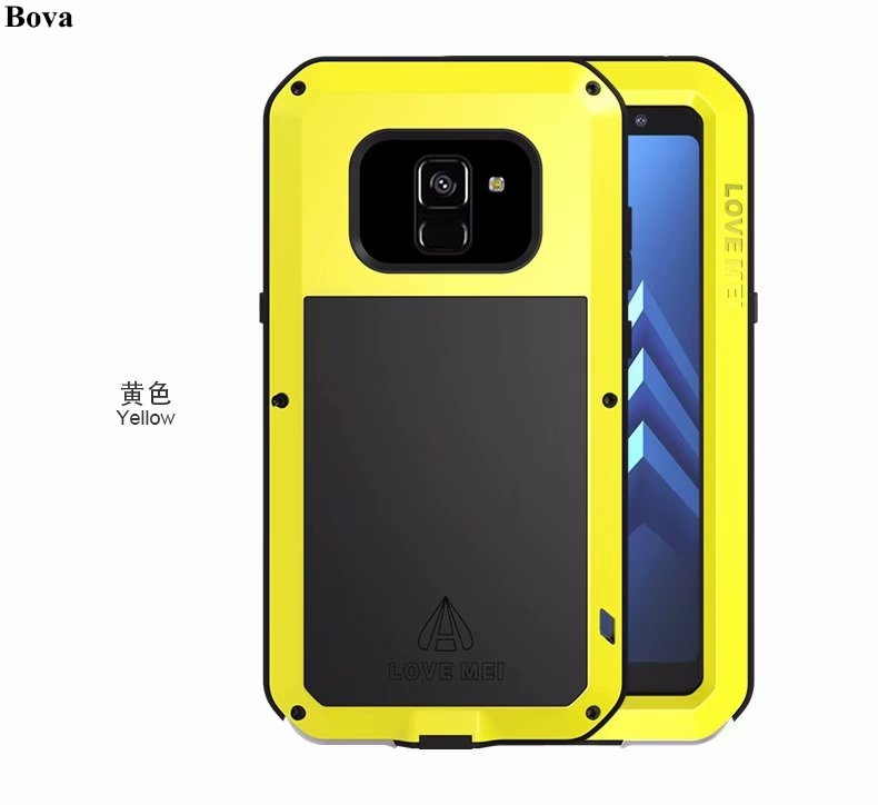 Original Love Mei Waterproof Case for Samsung Galaxy A8 2018 A530F A8 Plus 2018 A730F Shockproof