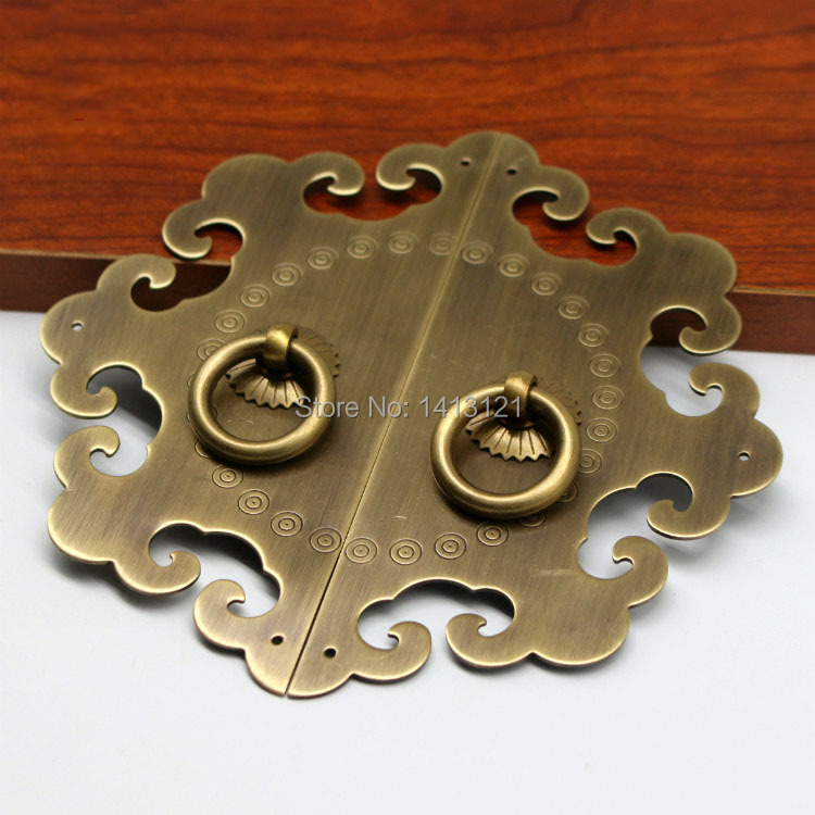 Classic Furniture Cabinet Knob Suitcase Bookcase Box Cupboard Drawer Pull Handle