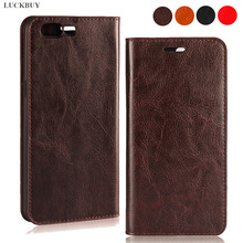 LUCKBUY Ultra-thin Genuine Real Leather Flip Wallet Case For OnePlus 3 5 5T 6 6T Oneplus 7 Pro Luxury Book for One Plus oneplus 1+5 1+6 1+ Protective Skin Cover