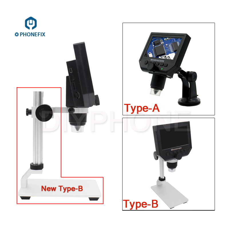 G600 600x 4 3 inch HD Digital Electronic video Microscope For Phone PCB soldering repair Magnifier