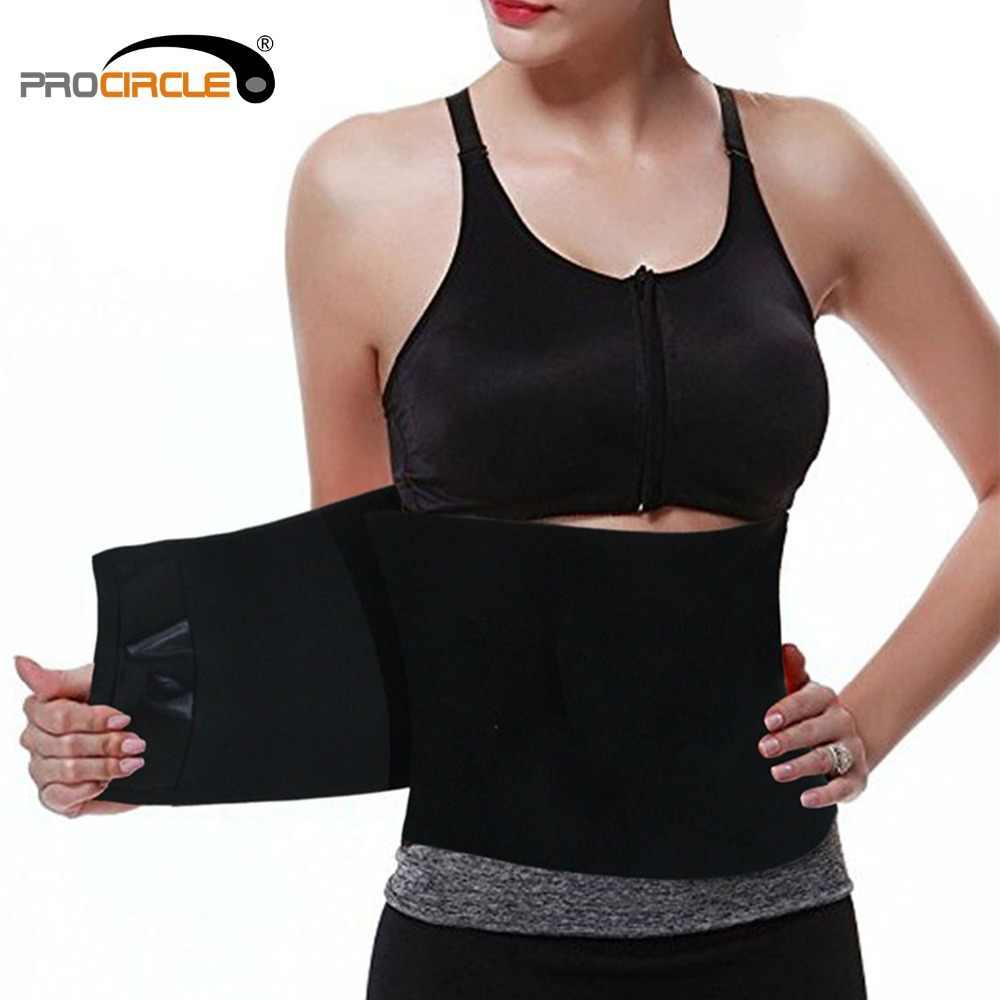 2c6692ae355 ProCircle Adjustable Waist Support Slimming Belt Waist Protector for Body  Shaper  back loins