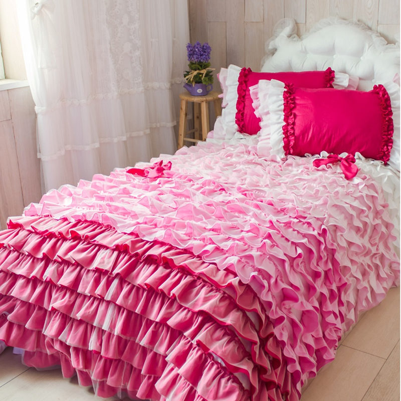 Aliexpress Com Buy European Luxury Cake Layers Bedding