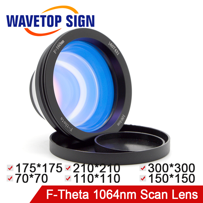 F-theta Lens 1064nm Scan Lens YAG Laser Scan Lens Fiber Laser Scan Lens Size: 70*70 110*110 150*150 175*175 210*210mm 5pcs spotlight bulb dc12v mr11 gu4 2w 3w 5w led lamp warm white cold white for ceiling lights window display studio light