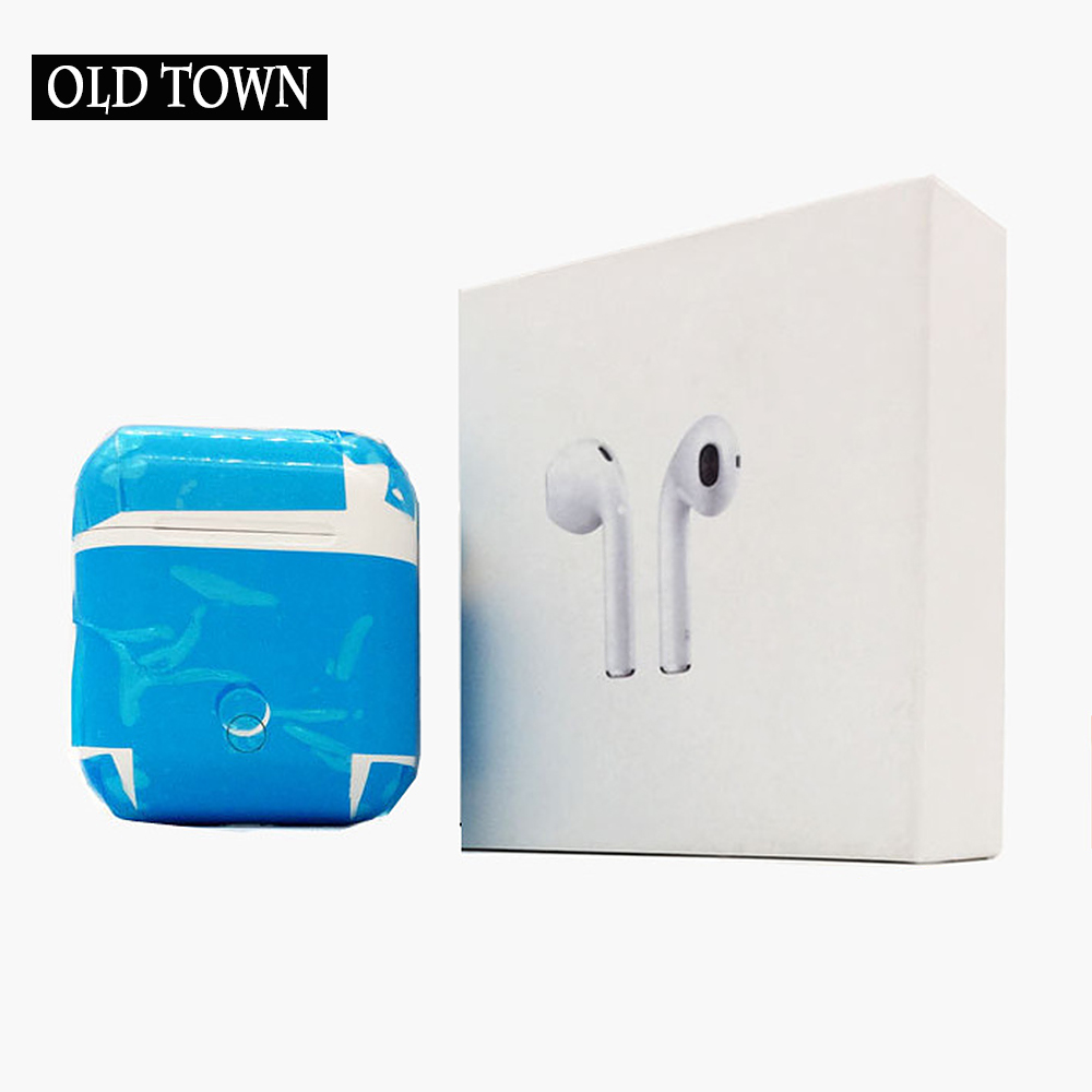 For Apple Air Earpods I7s TWS Twins Wireless Earbuds Mini Bluetooth V4.2 Stereo Headset Earphone for Iphone 7 Plus 7 8 6 Plus SE