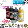 Envío Gratis 500 ml botella de T2521-4 tinta de sublimación para mano de obra WF-3620/WF-3640/WF-7110/WF-7610/WF-7620 todo en una impresora