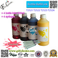Gratis bezorging 500 ml waterfles T2521-4 sublimatie inkt voor workforce WF-3620/van WF-3640/van WF-7110/van WF-7610/van WF-7620 all in one printer