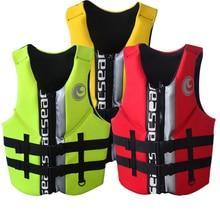 Lifevest adult neoprene life jacket PFD Type III Ski Vest/Life SIZE S TO XXXL