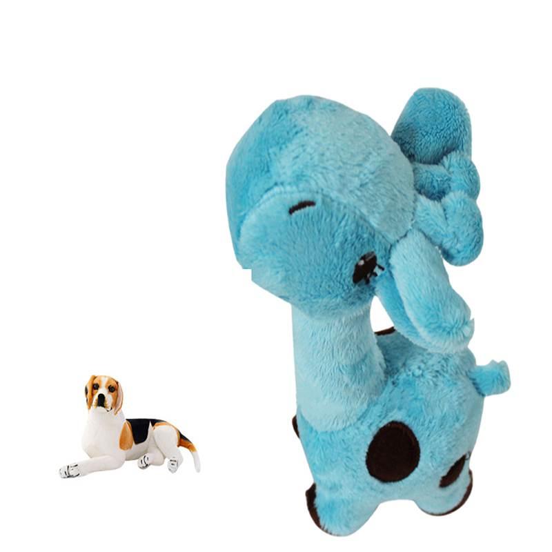 Игрушки для собак история Cachorro звук, Игрушечные лошадки для Товары для собак мультфильм олень Форма плюшевый щенок Pet мультфильм олень Форм...