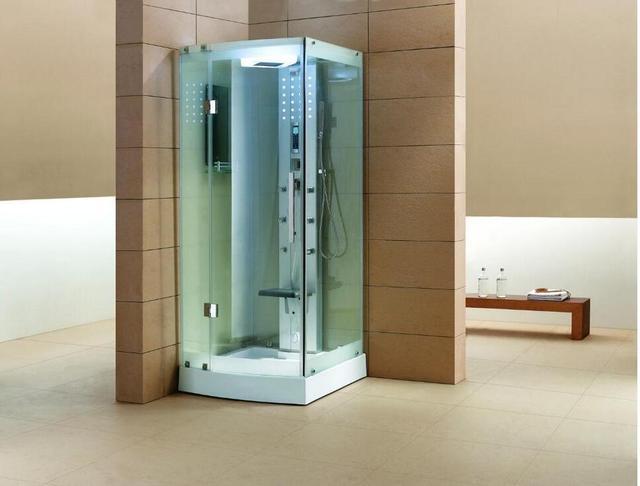 Luxus Dampf Duschkabinen Badezimmer Dampf Duschkabinen Whirlpool Massage Zu  Fuß In Sauna Zimmer 1000X1000X2150mm