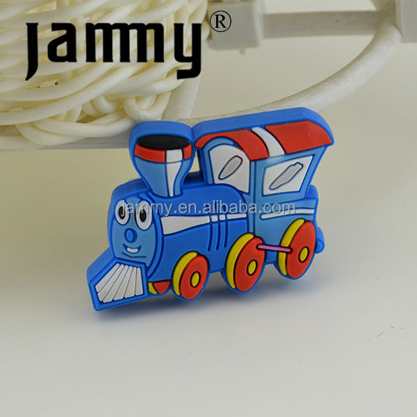 Rubber Colorful Knobs Mini Thomas Train Kids Furniture Hanldle Soft Drawer  Pulls, Blue Train Kids