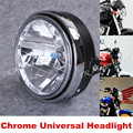 Chrome Universal Halogen Headlight fit Honda CB400 CB500 CB1300 CB1400 XJR400 XJR1200 Chopper Custom For SUZUKI KAWASAKI YAMAHA