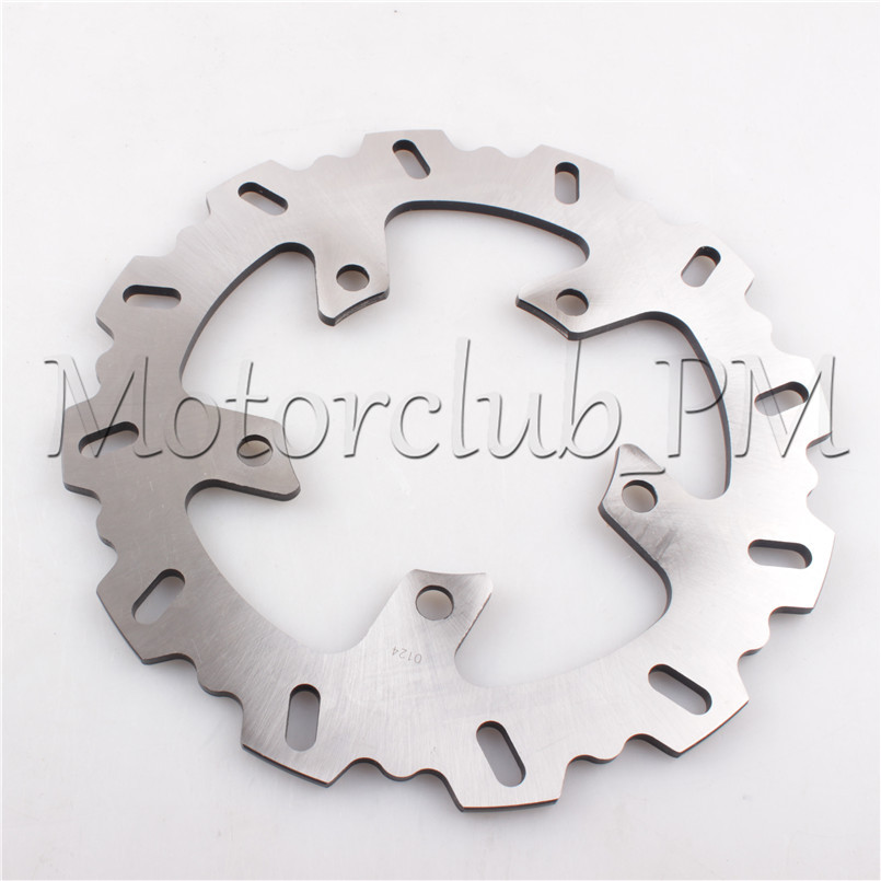 5 Holes Rear Brake Disc Rotor For Yamaha XJ6 DIVERSION FZ6 FAZER 600 FZ1 FAZER 1000 Motorcycle Bicycle Pads 6mm motorbike body work fairing bolts screwse for yamaha fz1 fazer fz6 fz6r fz8 xj6 diversion triumph tiger 800 1050