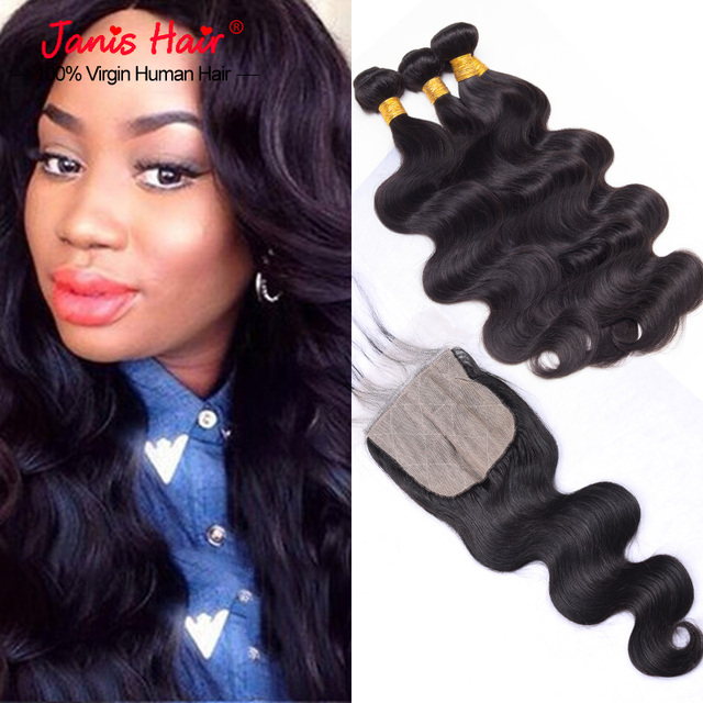 7a Armenian Body Wave Silk Base Closure With Bundles 3 Pcs Armenian
