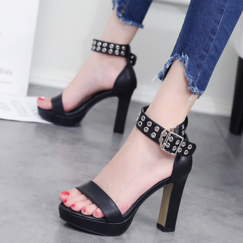 Metal leather Shoes Super