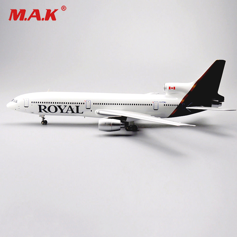 kids toys 1/200 Scale Diecast Inflight 200 1:200Aircraft Model LOCKHEED L-1011 TriStar ROYAL C-FTNI irplane Aircraft Model 1 400 jinair 777 200er hogan korea kim aircraft model