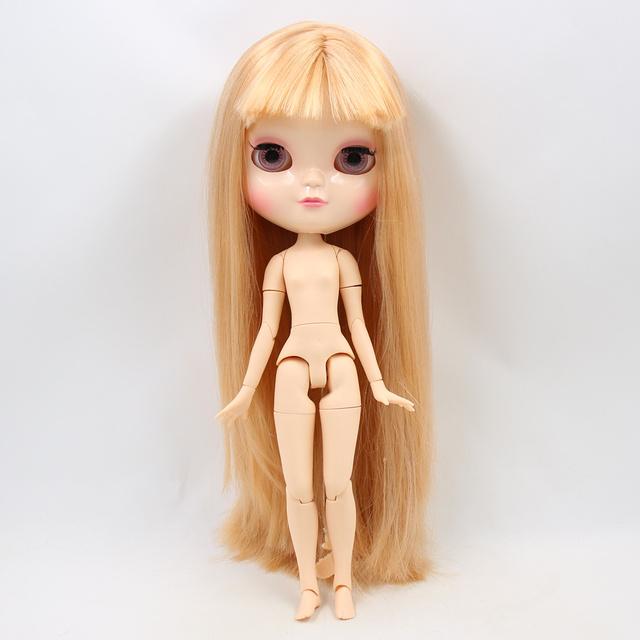ICY Neo Blythe lutka svijetlo smeđa ravna kosa Azone spojeno tijelo