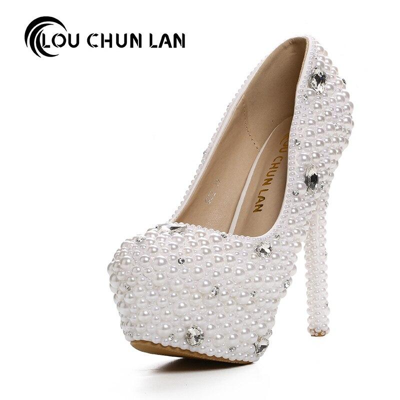 White Pumps Wedding Shoes