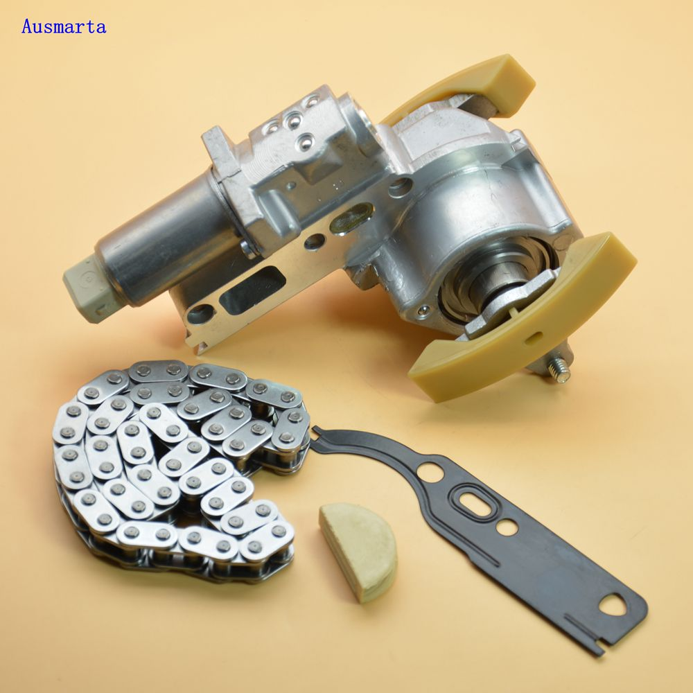 Camshaft Timing Chain Tensioners + Gasket For A3 A4 A6 TT Jetta Golf Passat Beetle1.8T 058 109 088 L 058109088L 058-109-088-L смазка other