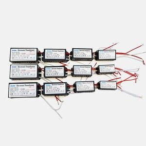 Image 2 - AC 12 V Elektronische Transformator 20 W 40 W 60 W 80 W 105 W 120 W 160 W 180 W 200 W 250 W Voor halogeenlamp & Kristal Lamp G4 Licht Kralen 1 STKS
