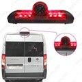 Freno del coche LED de Luz IR de Visión Trasera de Marcha Atrás/Parking Cámara para Fait Ducato/Peugeot Boxer/Citroen Jumper # FD-5369
