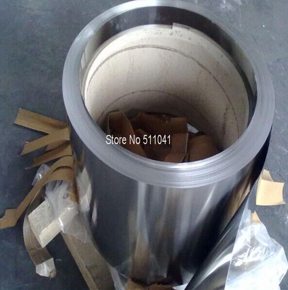 Feuille de titane bande de titane 0.07mm d'épaisseur