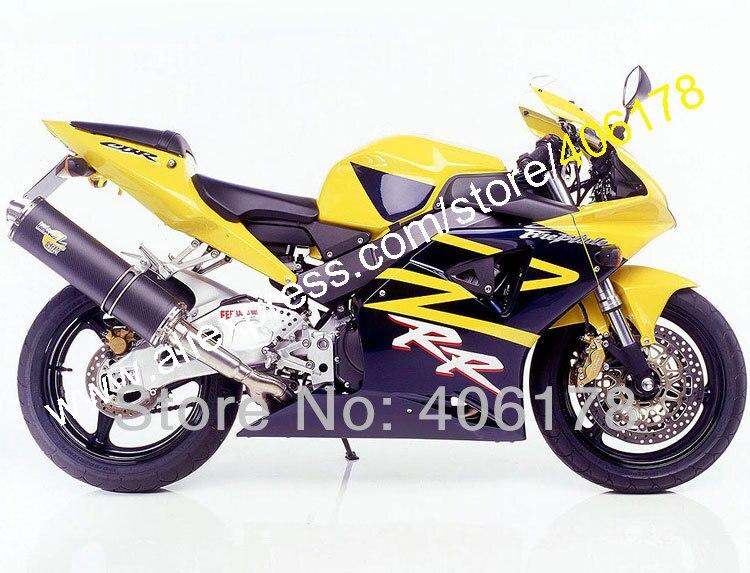 Hot Sales,For Honda 954 Fairing Kit CBR900RR 02 03 954 CBR954RR 2002 2003 Bodykit Body fairing Motorcycle (Injection molding)