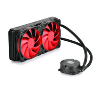 Water Element 240 Water Cooled CPU Cooler Double Cold Drain Cold Set Mute Water Cooled Fan