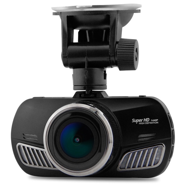Dome D201 2.7 inches LCD Ambarella A12 Super HD 1440P H.264 170 Degree View Angle Night Vision Car DVR GPS Track available
