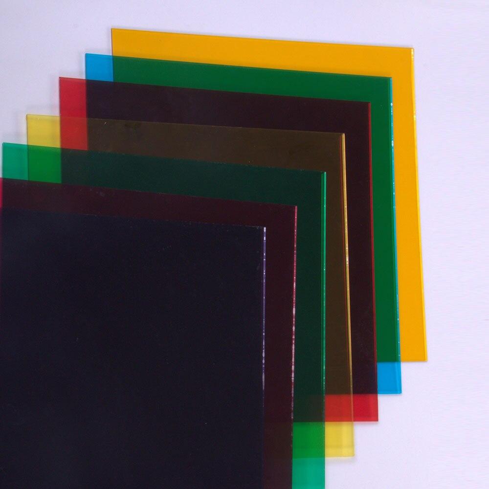 Sunice 30cm X 30cm Transparent Acrylic Sheet With