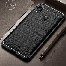 Чехол из углеродного волокна для Samsung Galaxy A40 A30, противоударный чехол для телефона, чехол для Samsung A 40 30 A20, чехол с полной защитой, бампер