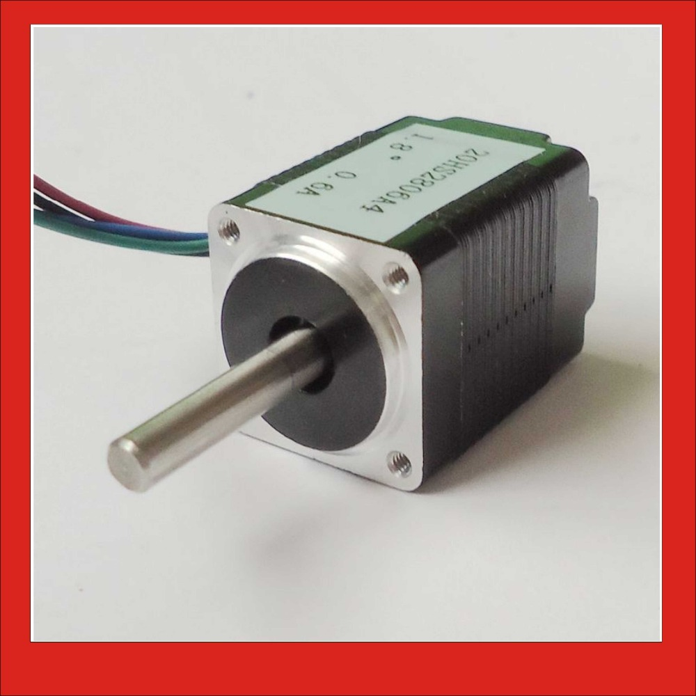 4-lead 1.8 degree NEMA 8 Stepper Motor with 1.8N.cm 2.5 oz-in Length 34mm CE ROHS CNC Kits 0 9 step degree nema14 round stepper motor with 8 8n cm 12oz in length 20mm ce cnc step motor