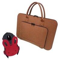 Felt Universal Laptop Bag Notebook Case Briefcase Handlebag Pouch For Macbook Air Pro Retina 17 Inch