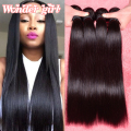 "7A Malaysian Straight Hair 4 Bundles Malaysian Virgin Hair Straight Human Hair 8""-26"" Unprocessed Virgin Straight Hair Bundles"