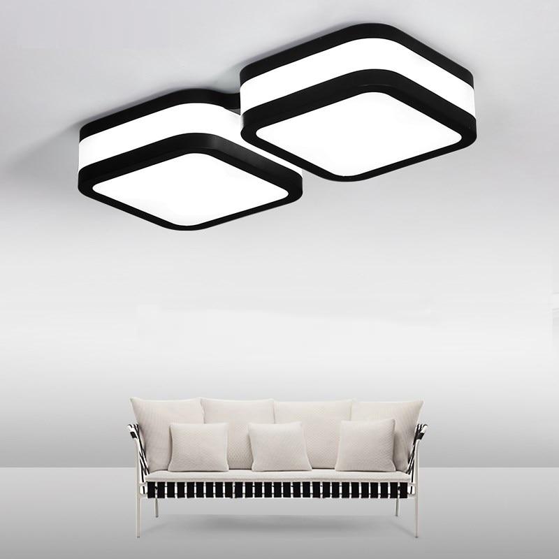 LED ceiling lamp bedroom lamp warm and modern light office study LED lighting creative atmosphere living room ceiling lights цена