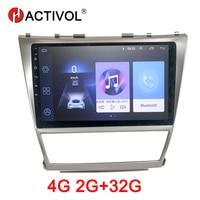 HACTIVOL 2G + 32G Android 8,1 радио автомобиль Toyota Camry Aurion v40 2006 2011 dvd плеер автомобиля аксессуар 4G мультимедийный плеер