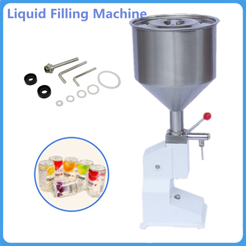 New Manual Paste Filling Machine Liquid Filling Machine Cream Filling Machine Sauce Jam Nail Polish Filling Machine 1 - 50ml economic and practical manual cream paste filling machine manual liquid filling machine 5 50ml manual liquid filler factory
