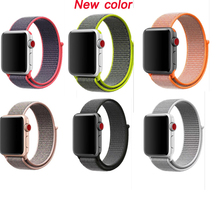 Series 4/3/2/1 strap For Apple Watch sport loop nylon Band 42mm woven Nylon Belt bracelet for iWatch nylon Band 38MM 40mm 44mm woven nylon for apple watch band 4 44mm 40mm sport loop watchband iwatch series 4 3 2 1 42mm 38mm bracelet breathable wrist belt
