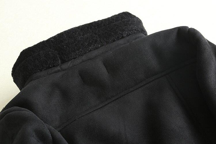 Daim Thermique Femmes D'hiver Gtgyff Chaud Veste Manteau Pour Moto Vestes Survêtement Épaississement Manteaux Faux Fourrure Cuir Zippée En SwCFHqY
